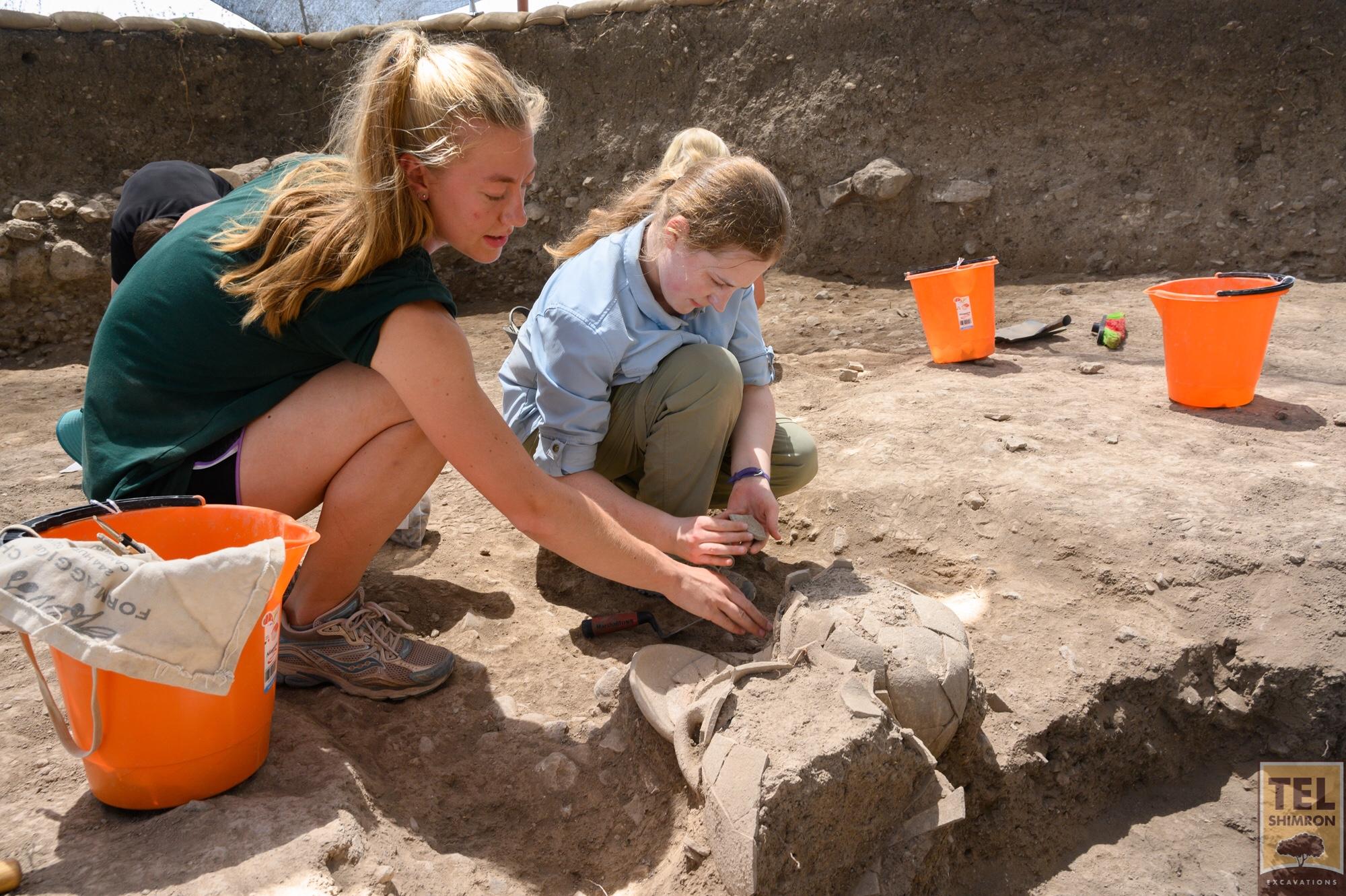 Excavating in Grid 92
