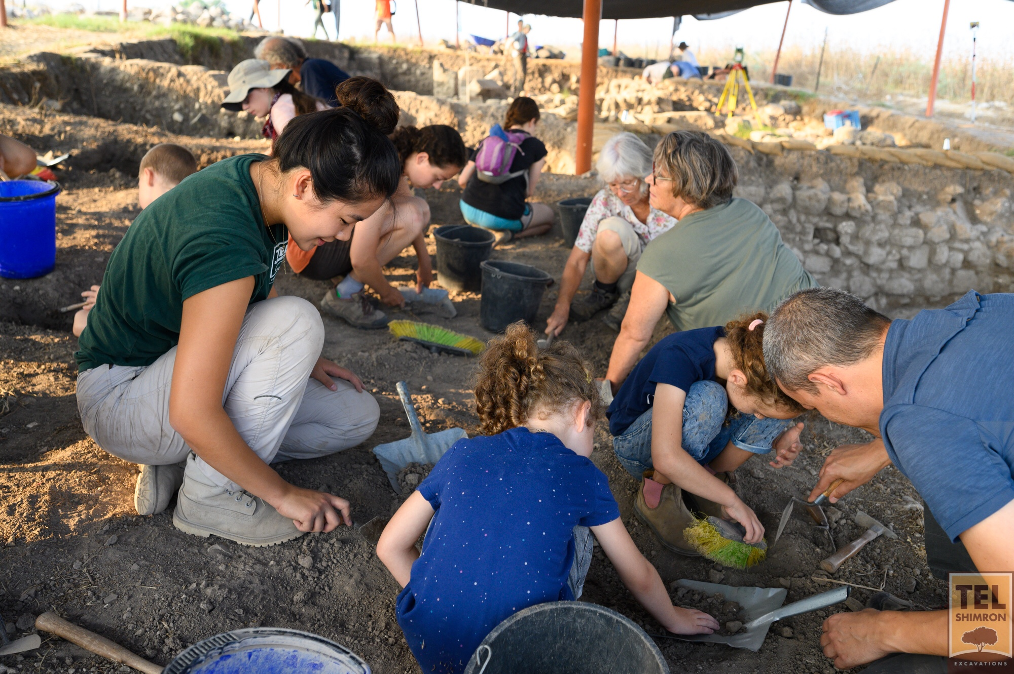 Excavating Tel Shimron