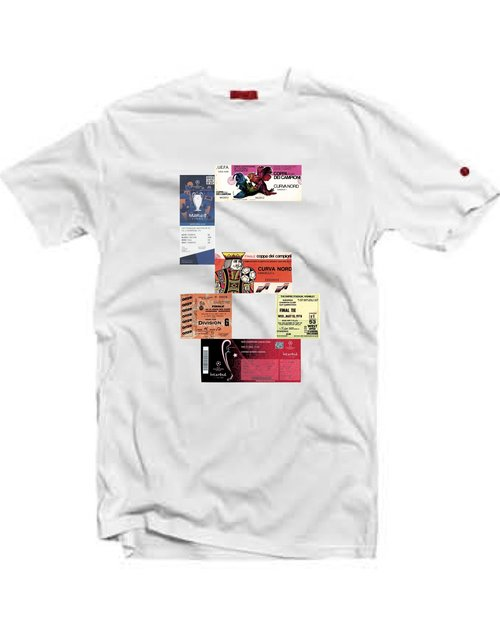 40bdb854 Liverpool 6 Ticket' T-Shirt / White — 80s Casuals
