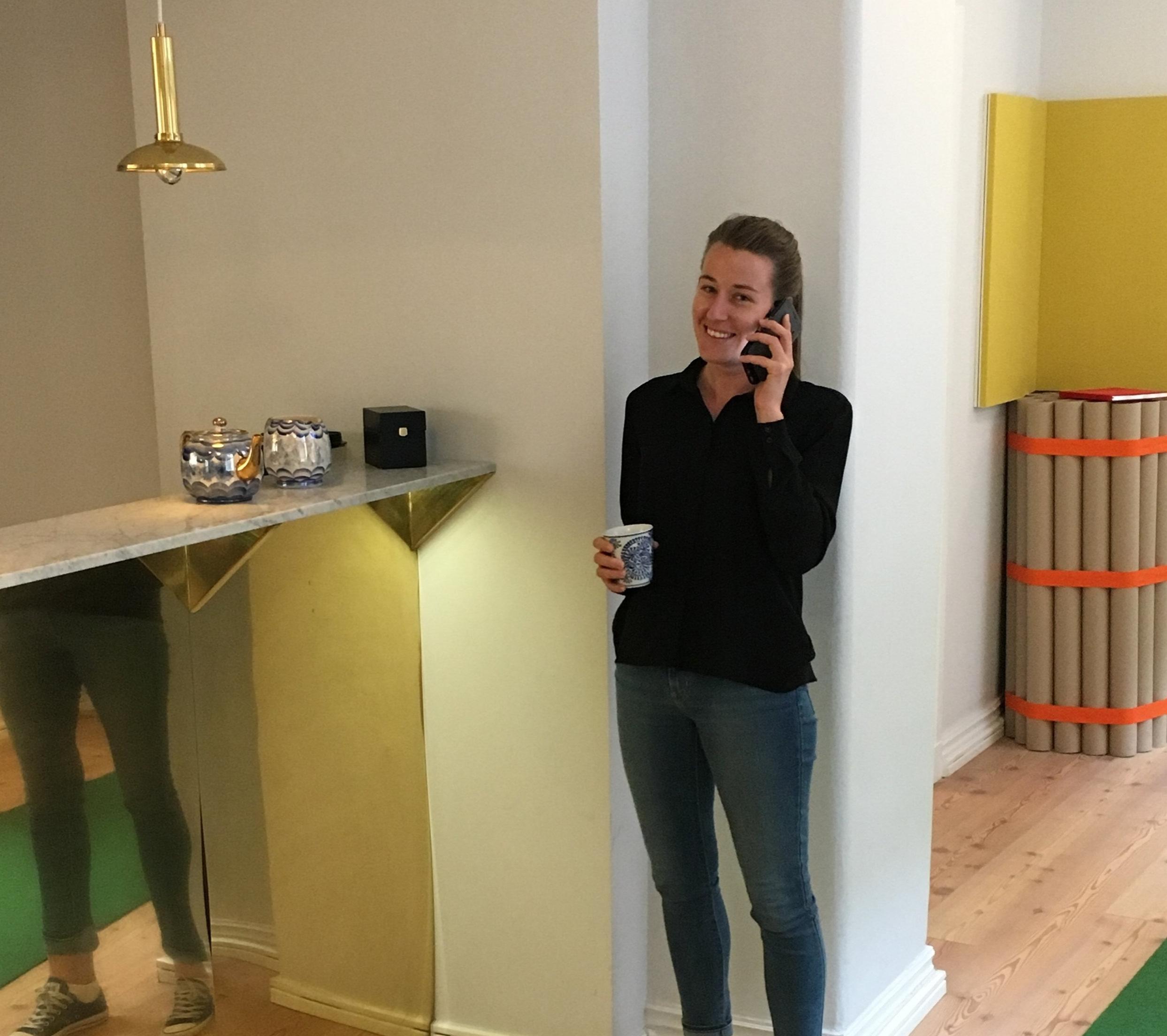 Elin Persson på vårt Stockholms kontor