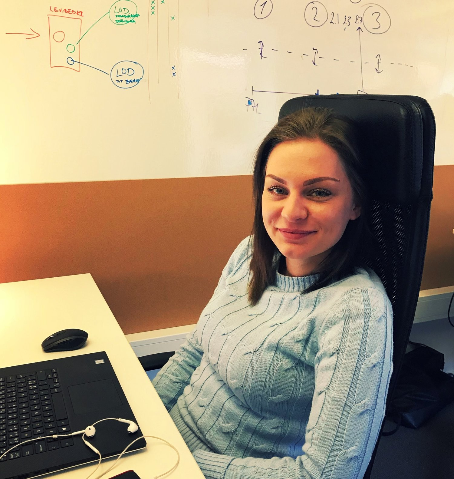 Eugenia has joined our team in Gothenburg