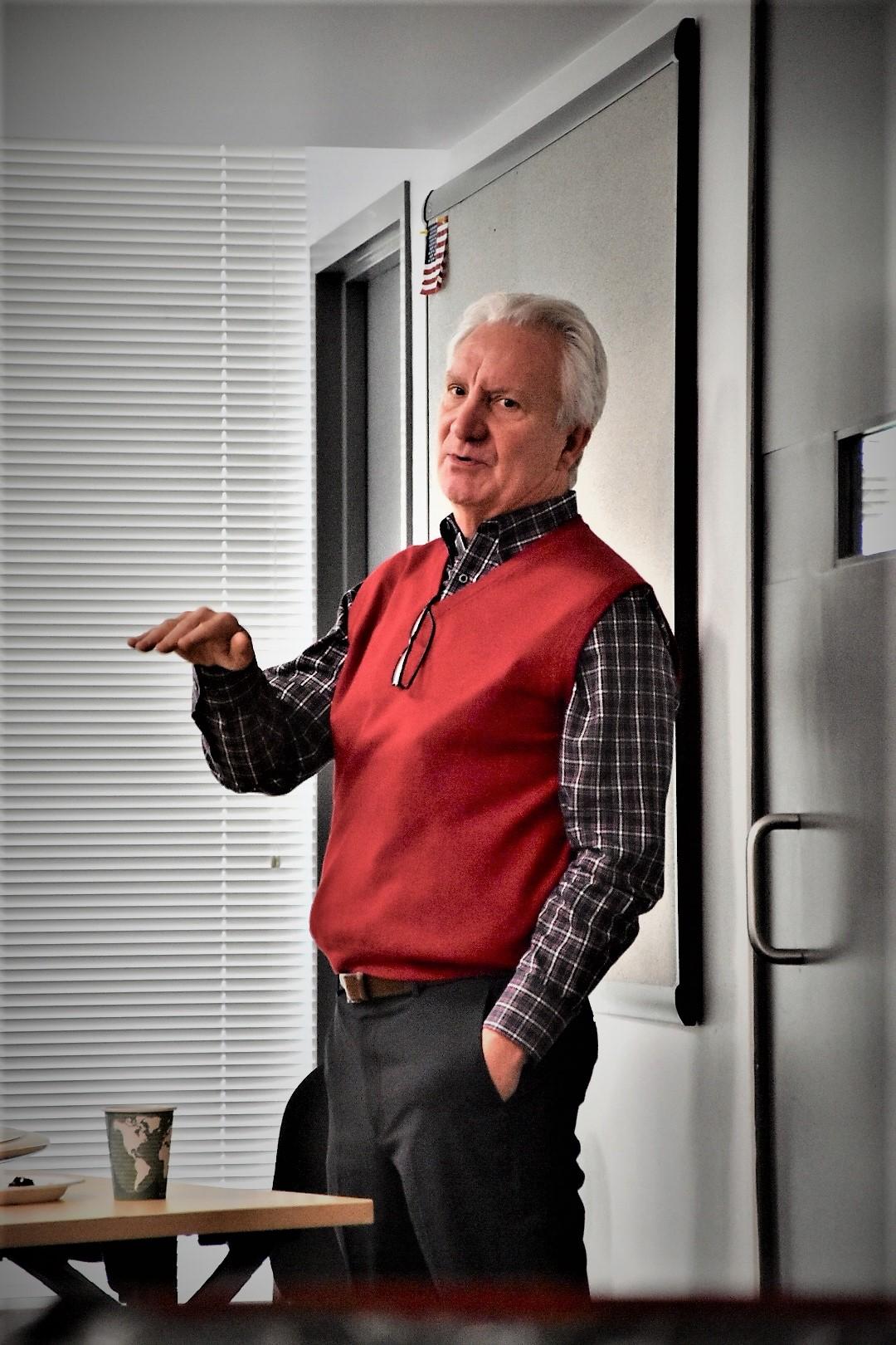 Eric Lamb, en av grundarna till DPR.