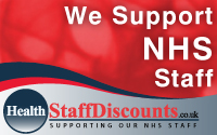 TERMS: 10% discount on food, for NHS staff only on production of employer ID.