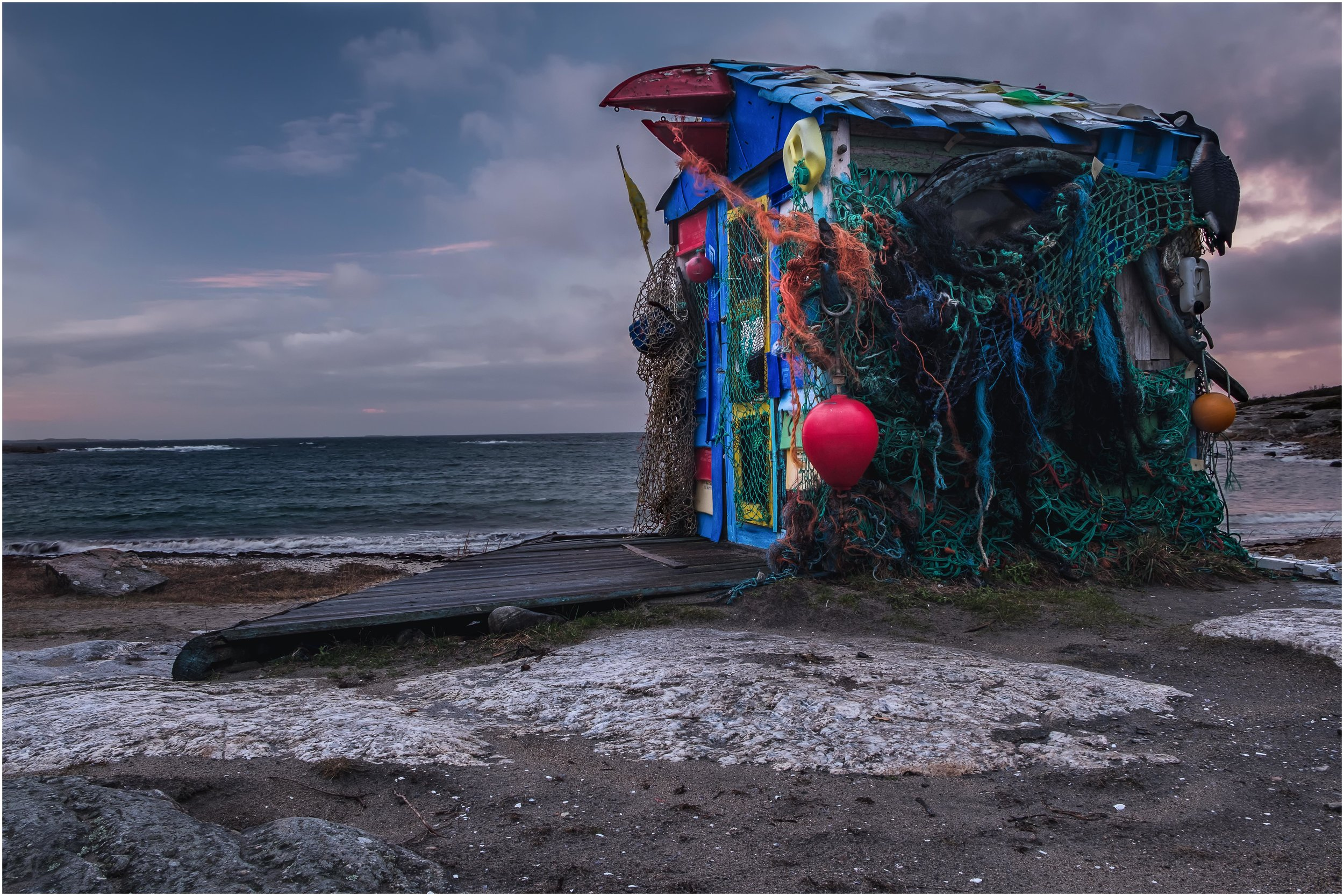 """The Shed"" at Storesand beach taken with the Fuji X-T2 and the 18-55mm"