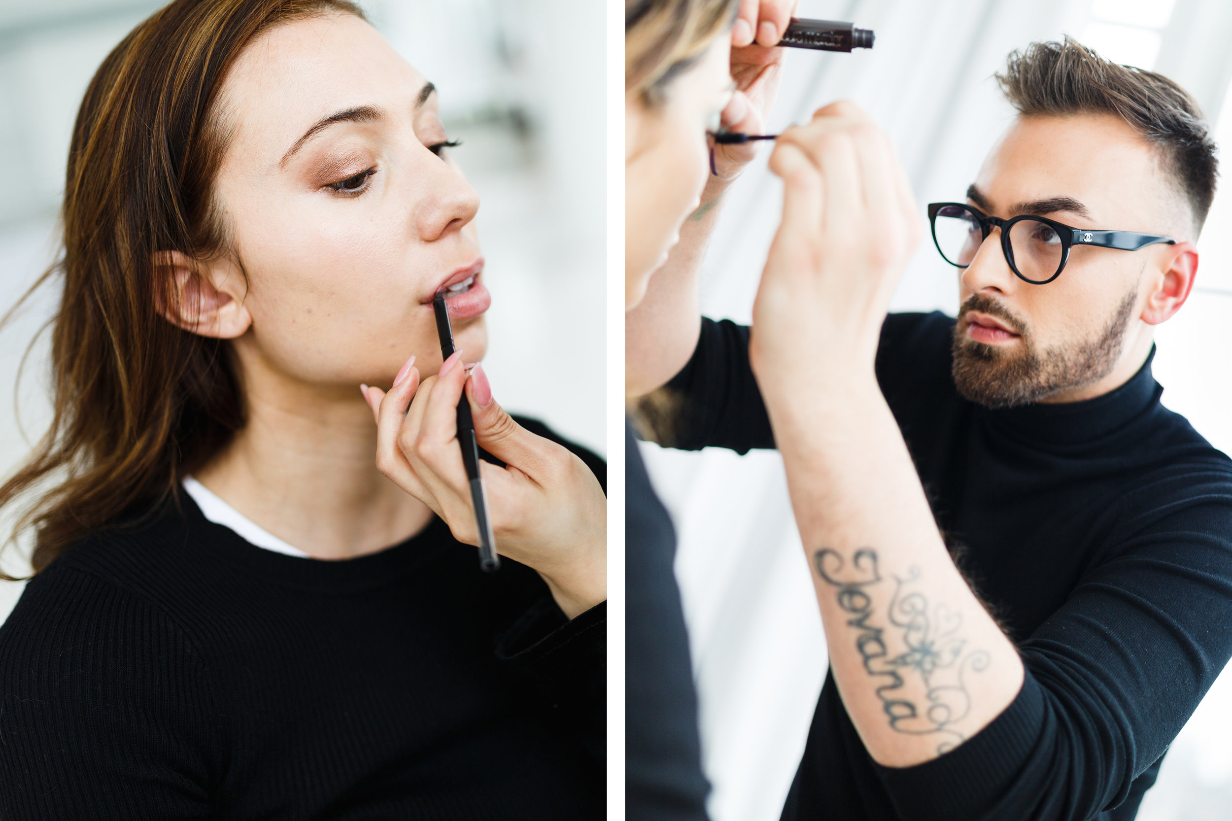LAURA MERCIER'S EDITORIAL WORKSHOP AT JACK STUDIOS, NYC