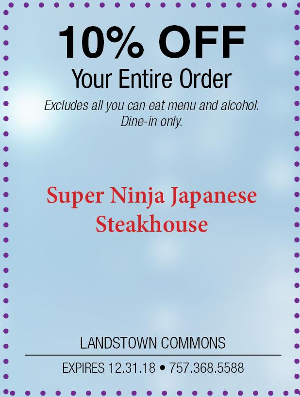 Super Ninja Japanese Steakhouse Landstown.jpg