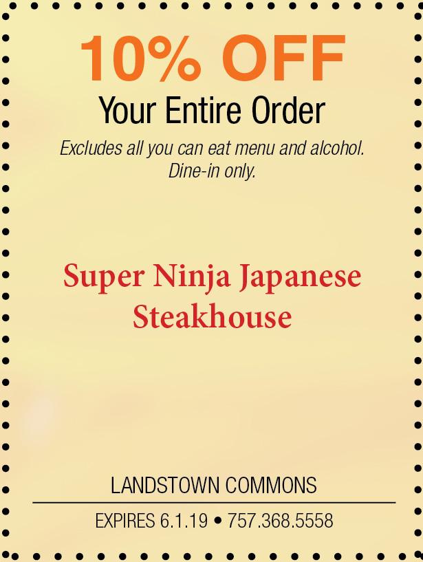 Landstown Super Ninja Japanese Steakhouse.jpg