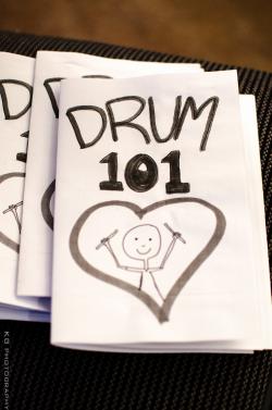A Drum 101 zine