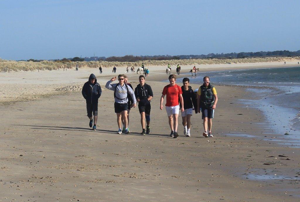 Studland Bay to the NT Knoll Beach respite.