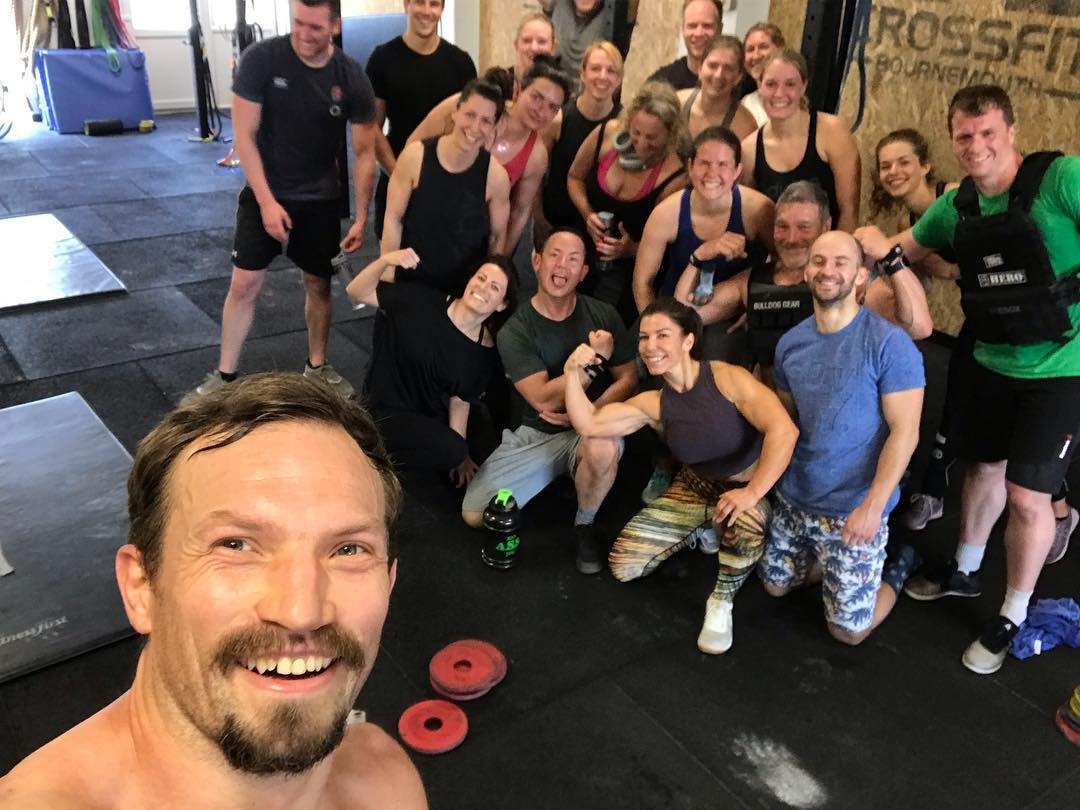 Martyn Lever and his crew at Crossfit Bournemouth are taking on the Tour of Britain for the JTYAF