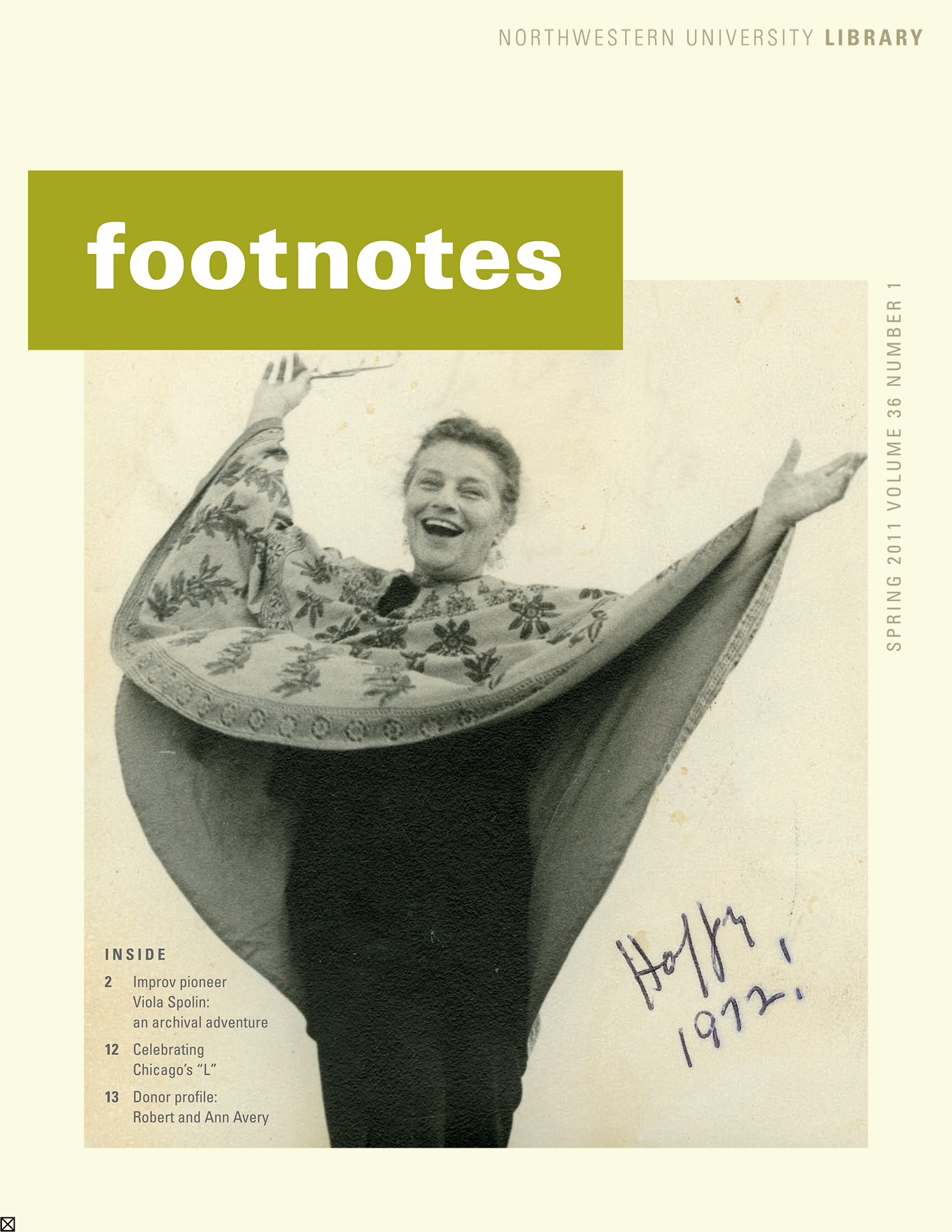 Click image to read this issue of Footnotes