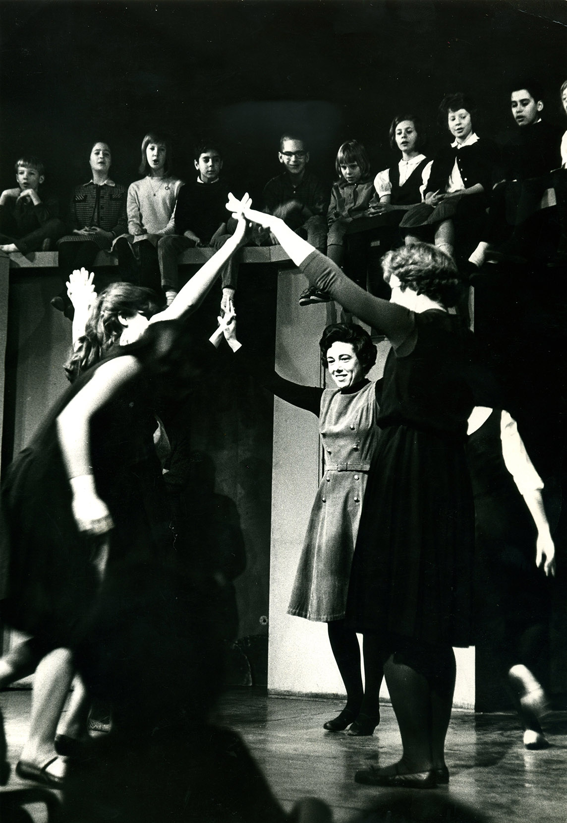 Viola Spolin's Second City Class Performs, early 1960s