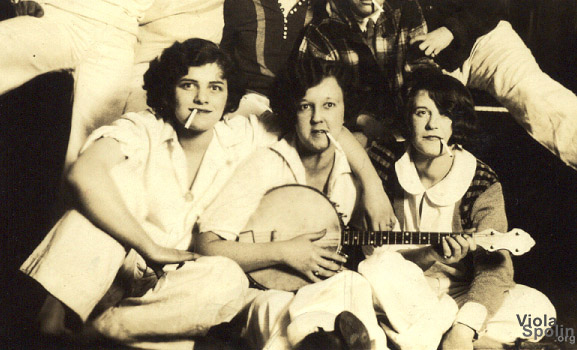 Viola Spolin and Girlfriends 1925