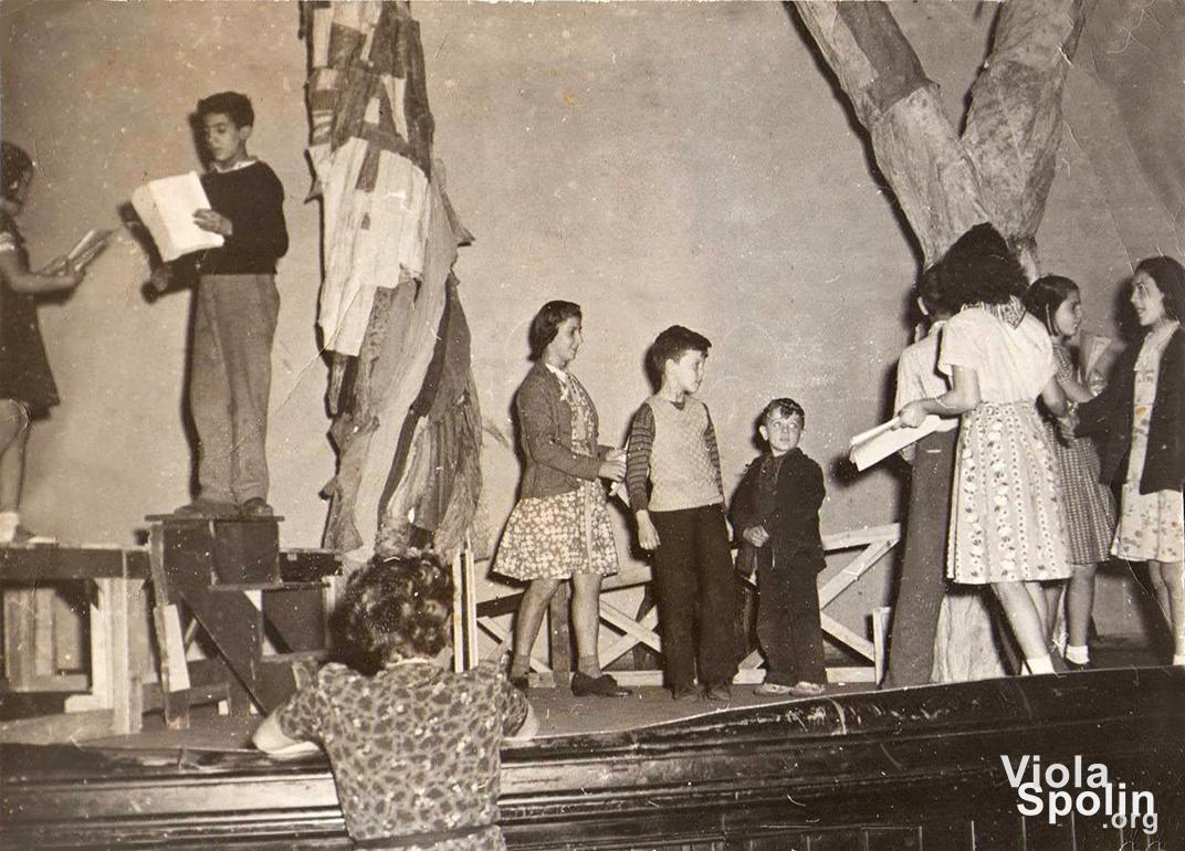 Viola Spolin at Hull House