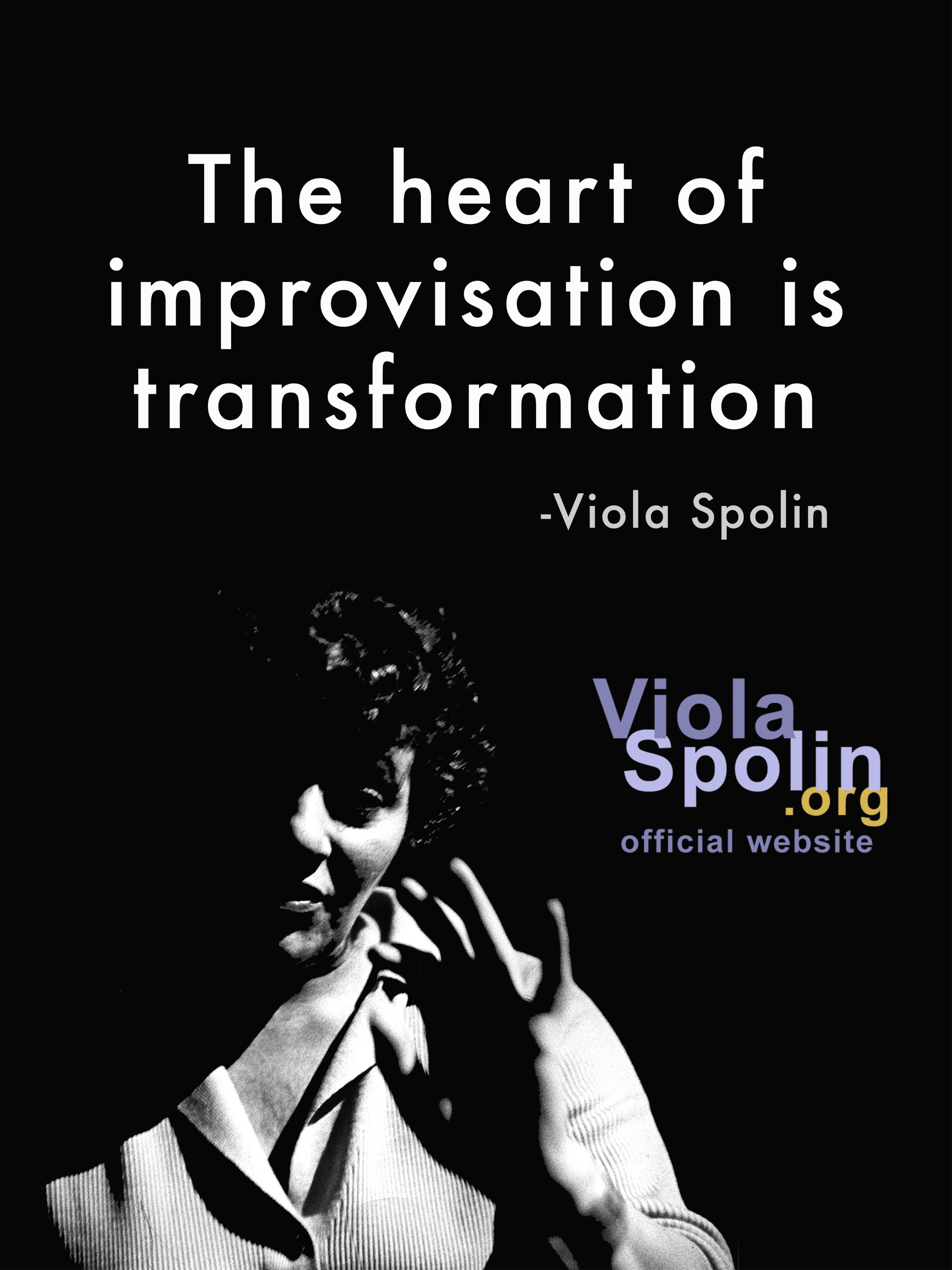 Viola Spolin Improvisation Meme
