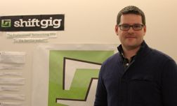 Co-founder and CTO Sean Casey isn't new to the business community: Shiftgig is his second startup business.