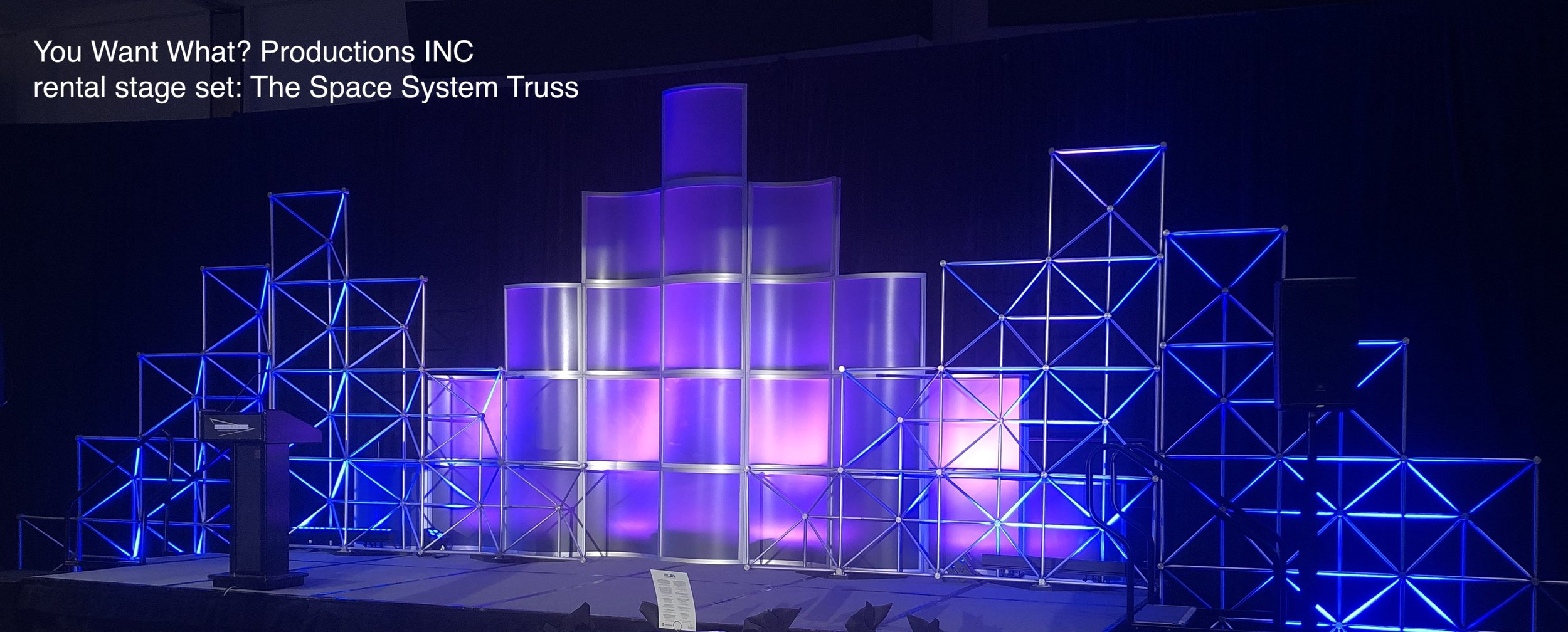 You Want What Productions INC rental set Space System Truss  - 10.jpg