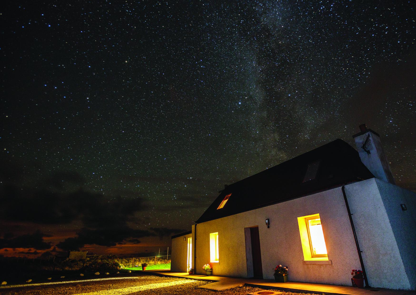 Creagan Cottage,Copyright Richard Whitson