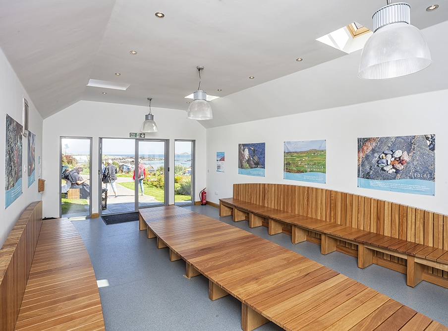 Iona Visitor Shelter  - New Public Visitor Shelter & Exhibition Space,Isle of Iona