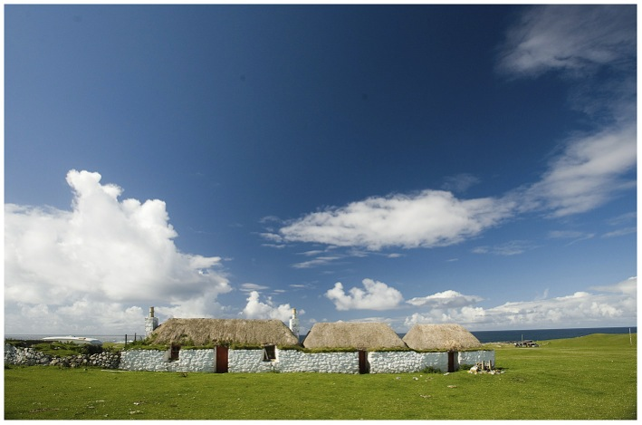 Sandaig Thatched Terrace