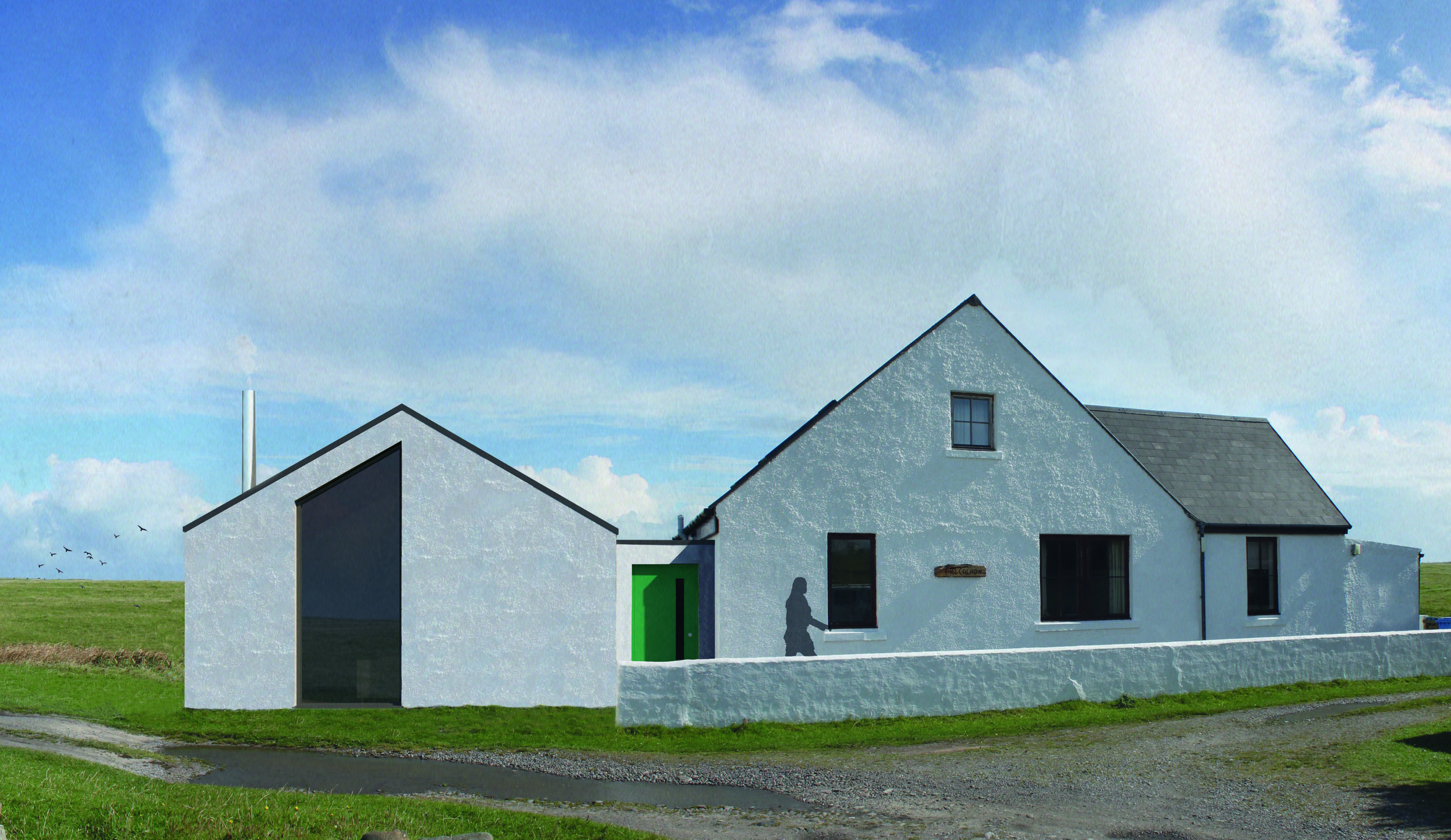 An Caladh -  Extension of Existing House, Balevullin