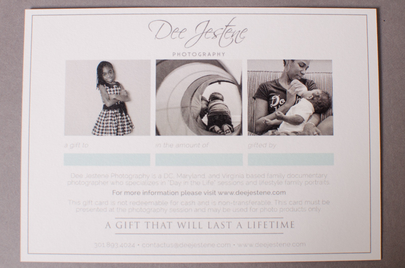 Dee Jestene Photography Gift Card