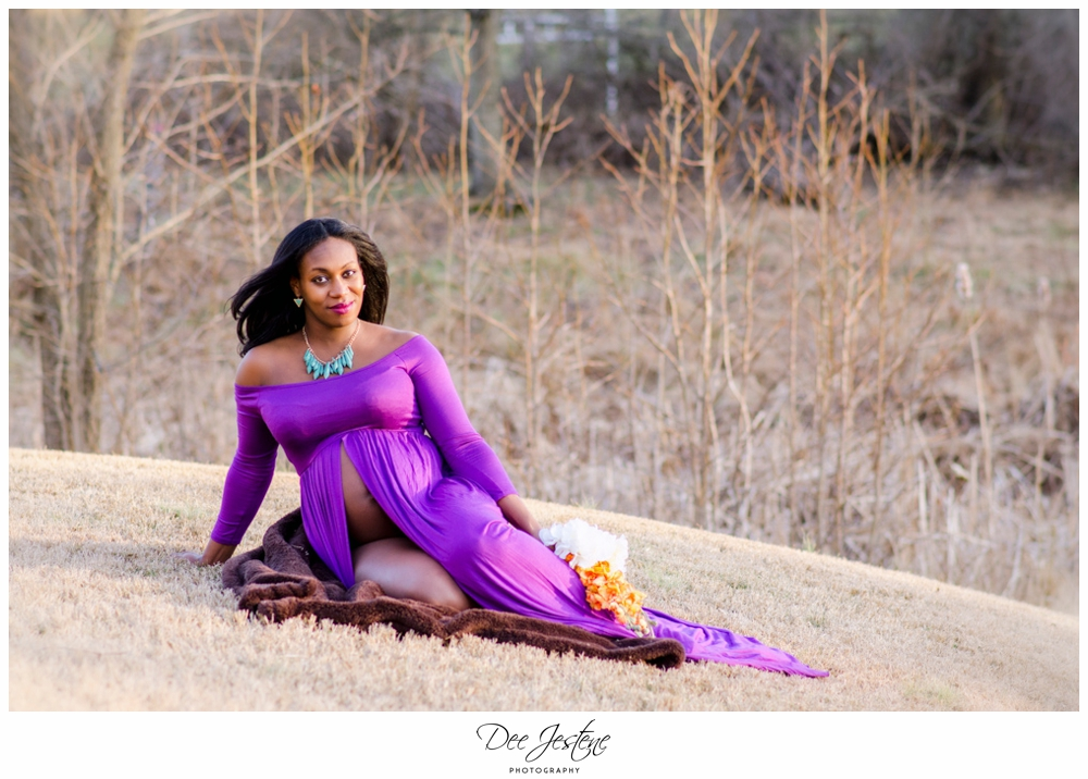 Maternity Photoshoot African American Black woman Family Photography-9.jpg