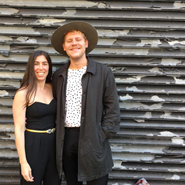 Stephanie Benedetto with Corbin Chase (Creative Director)