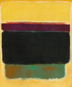 Untitled, oil on canvas by Mark Rothko, 1949, photo from National Gallery web site
