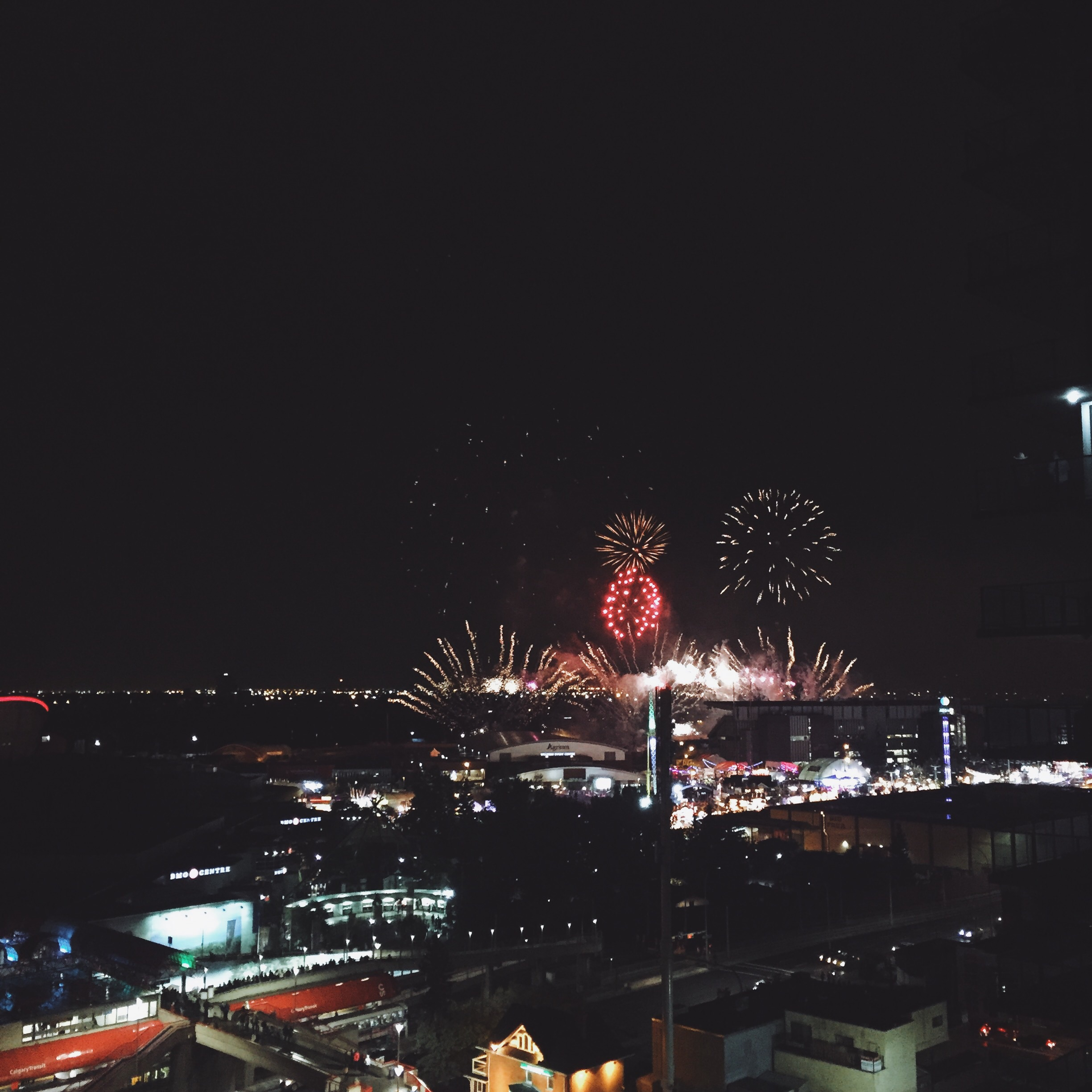 Fireworks every night.