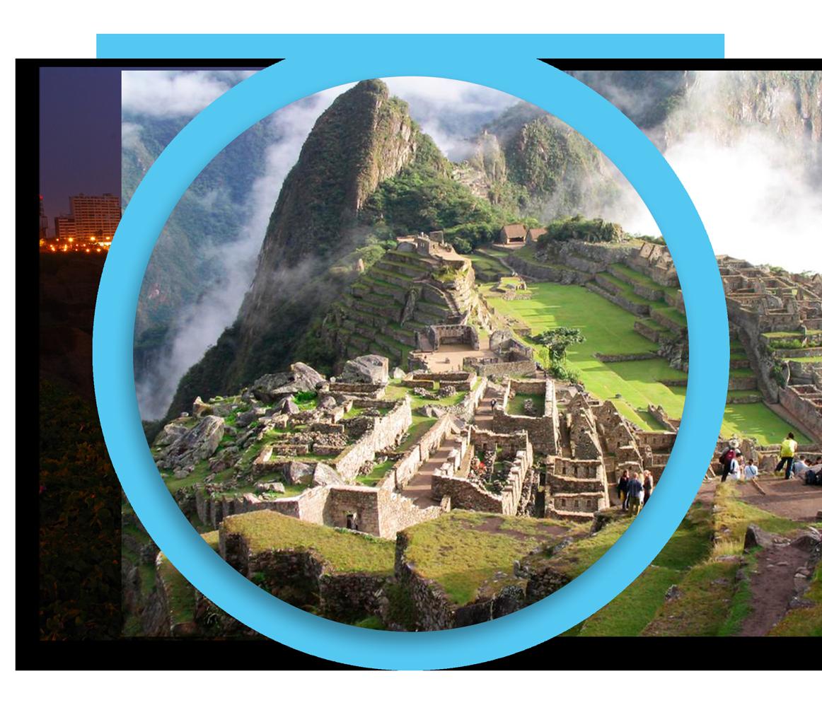 Machu Picchu. -
