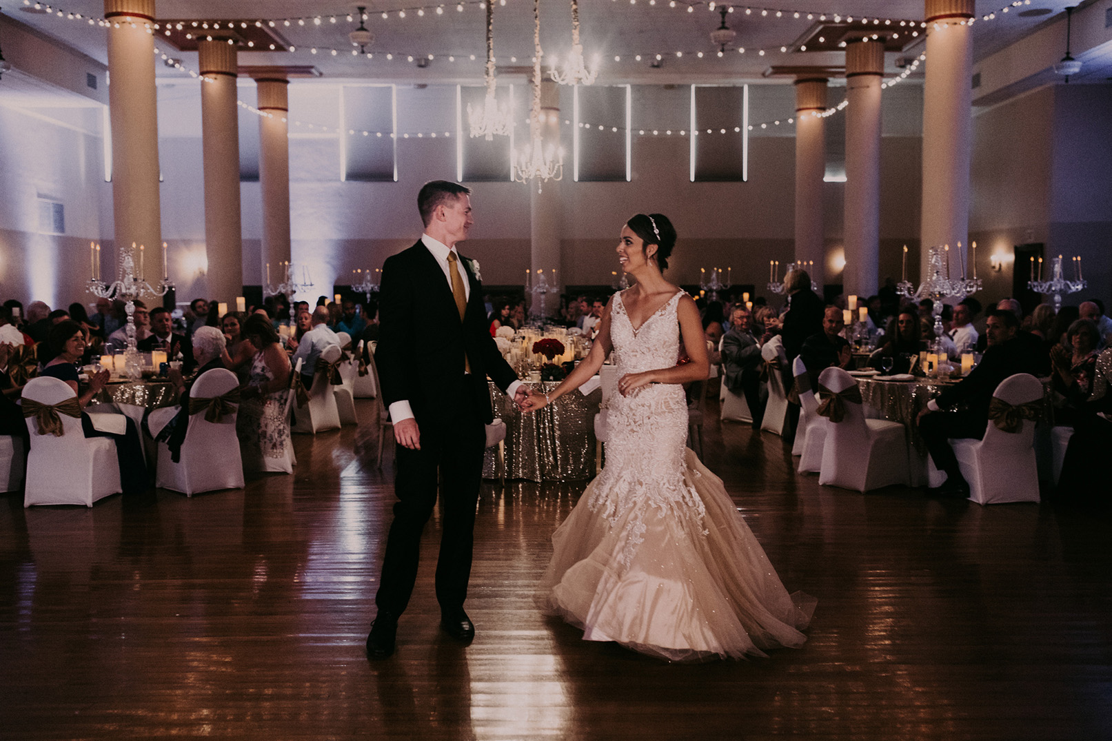 Scottish Rite Consistory, location of the 2019 Des Moines Wedding Show — The Ballroom, Kaitlin and Drew's wedding 2017