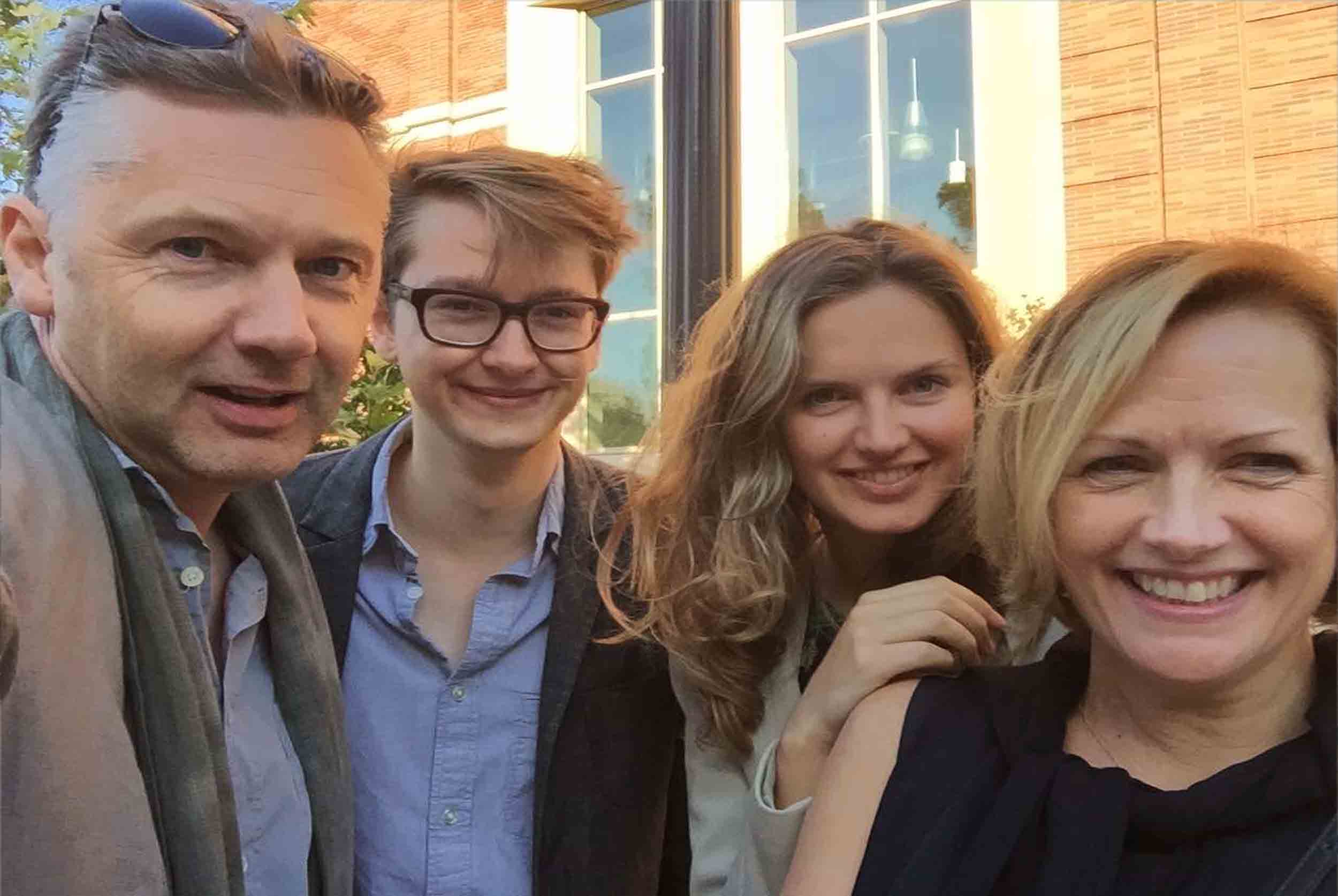 Andrew, Ollie, Flo and Louise