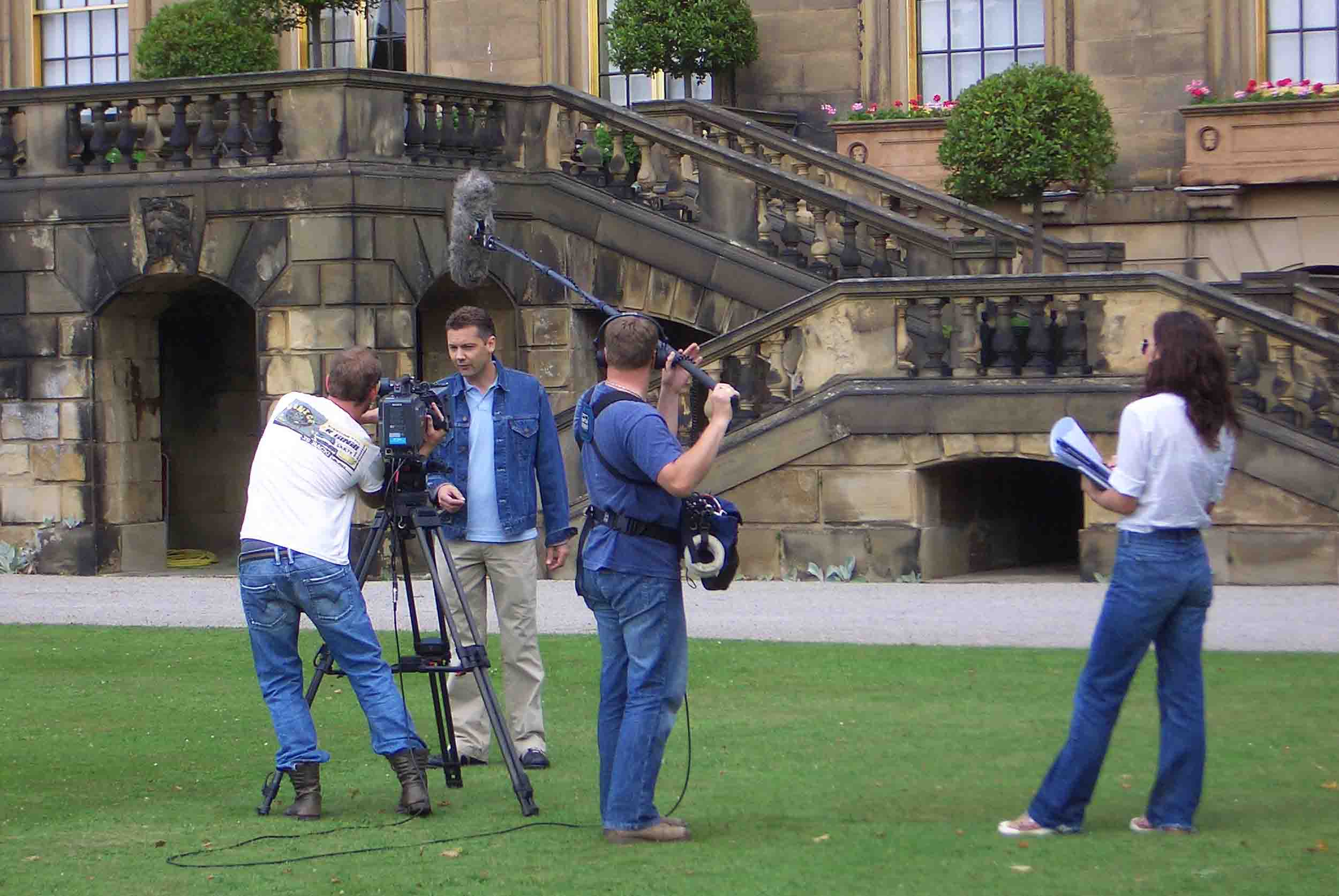 Shooting at Chatsworth House in Derbyshire