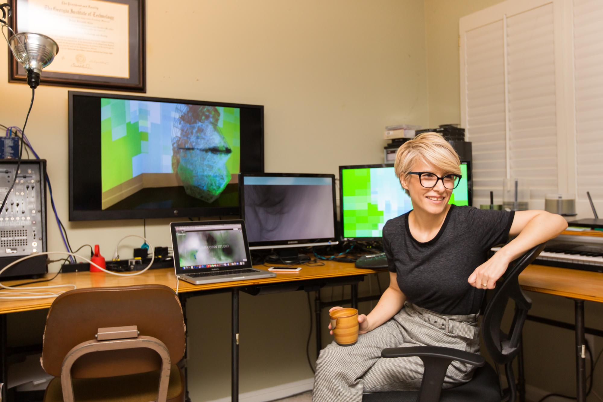 Artist Bojana Ginn   In the Studio with Ellsworth Kelly Recipient, Bojana Ginn