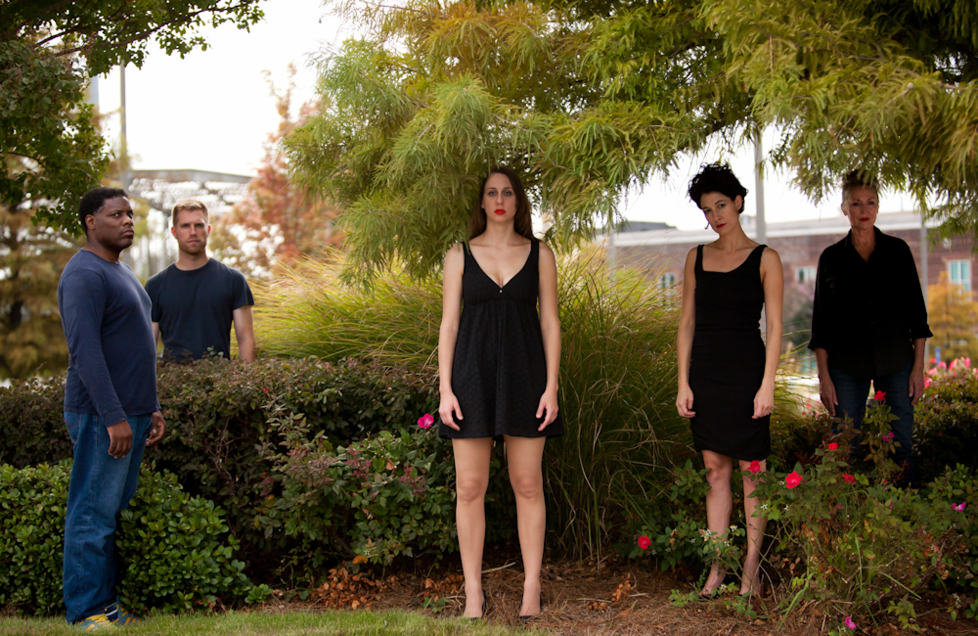 Dark Pavement, set photo   Photographed for Alix Pearlstein at the Atlanta Center for Contemporary Art
