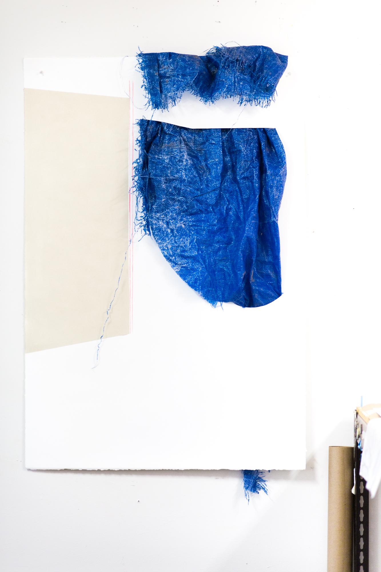 WIP in Krista Clark's studio   In the Studio with Krista Clark