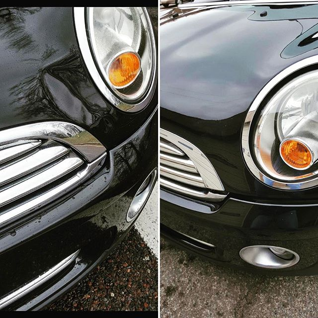 There's nothing Mini about this dent... #stldentco #pdr #minicooper #dentrepair