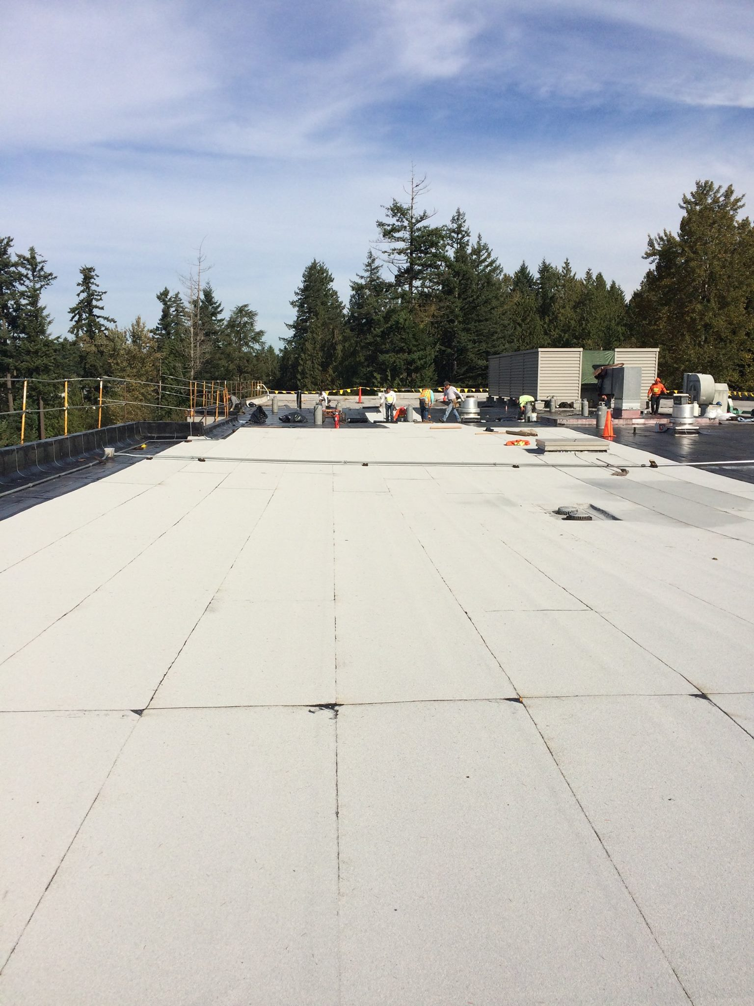 Reroof & Recover Wayne's Roofing Seattle WA