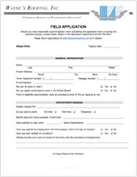 Field Worker PDF Application