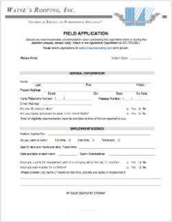 Field Application