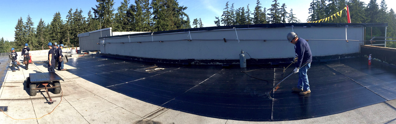 flat roofing specialist Federal Way WA