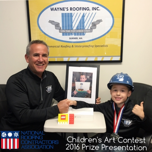 Rocky Benson, the grandson of Donald Guthrie our President, won his age group for the contest in 2016!