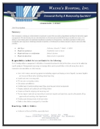 Office Administration Job Description