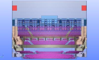 3D model of Auditorium