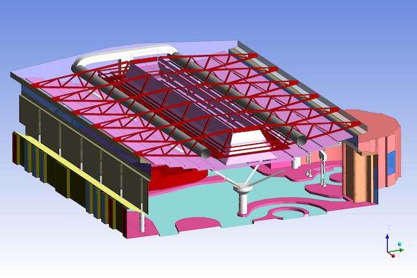 3D model of Pool hall