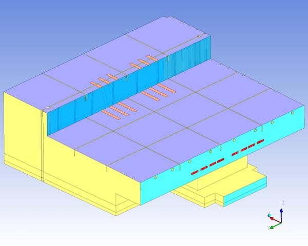 3D Model of the Aircraft Hangar