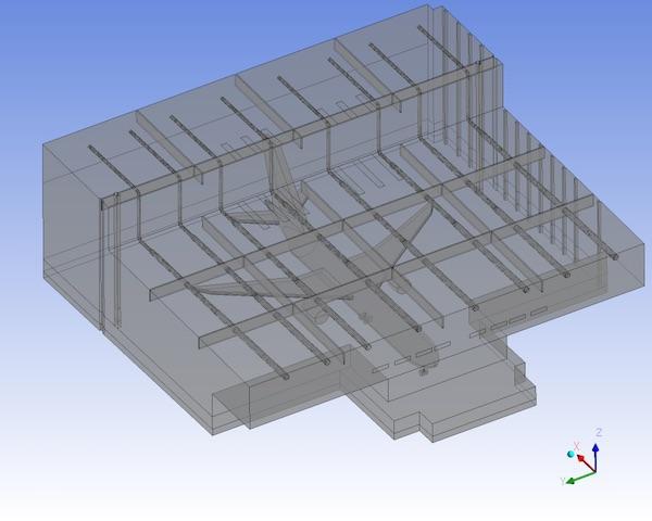 Air Craft Hangar CFD analysis
