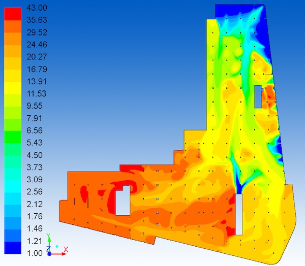 CFD Analysis Result - CO Contours