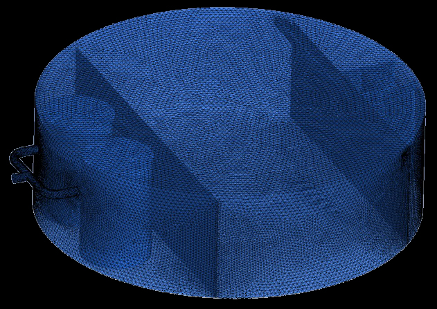 OG-1 Mesh for the simulation of flow inside the Produced Water Skim Tank_A.jpg